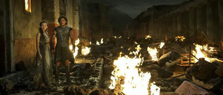 кадр из фильма Помпеи(2014)