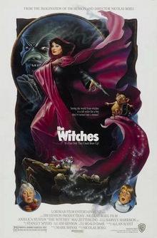 афиша к фильму Ведьмы (1990)