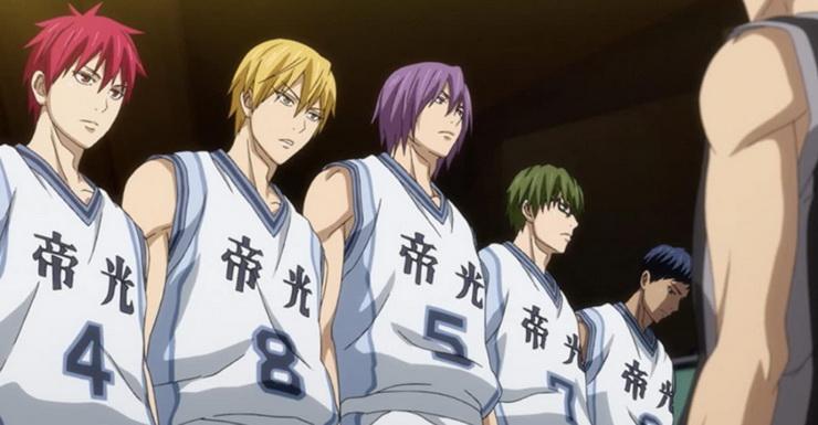 баскетбол куроко 4 сезон дата выхода